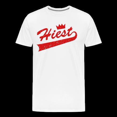White Classic Crown - Jordan 5 'Supreme' - Men's Premium T-Shirt