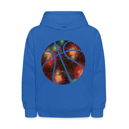 Galaxy basketball sweater - Kids' Hoodie