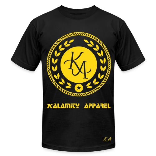 Kalamity Apparel Tee Gold - Men's Fine Jersey T-Shirt
