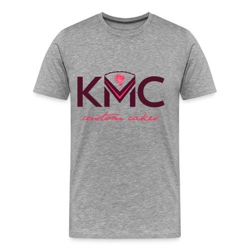 Men's KMC on Gray - Men's Premium T-Shirt