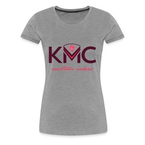 Women's KMC on Gray - Women's Premium T-Shirt