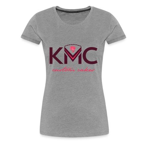 Women's KMC on Gray - Women's Premium T-Shirt