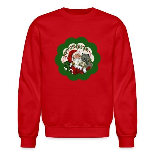 Cairn Terrier  Christmas List Sweatshirt - Crewneck Sweatshirt