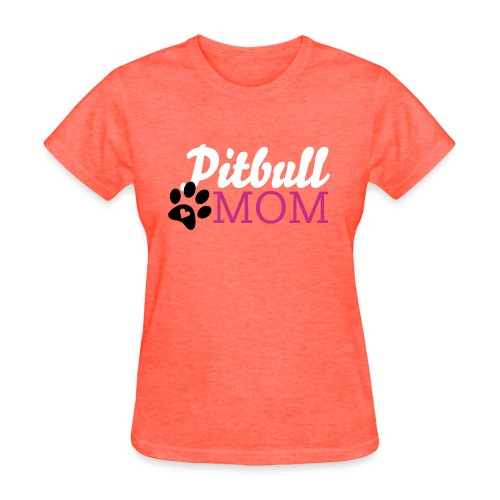 Pitbull Mom - Women's T-Shirt