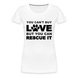 Rescue dogs  - Women's Premium T-Shirt