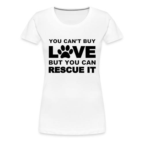 Rescue dogs  - Women's Premium T-Shirt