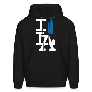 I Spray L.A. (Blue Can) Hoody - Men's Hoodie