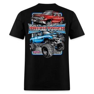 Built Truck Tough Shirt BACK - Men's T-Shirt