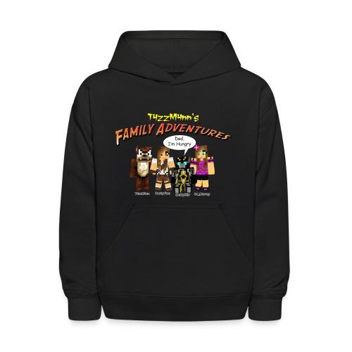 T4zzM4nn's Family Adventures Kids Hoodie - Kids' Hoodie