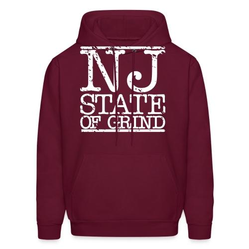NJ STATE OF MIND - Men's Hoodie