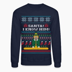 Elf Christmas Sweater Long Sleeve Shirts