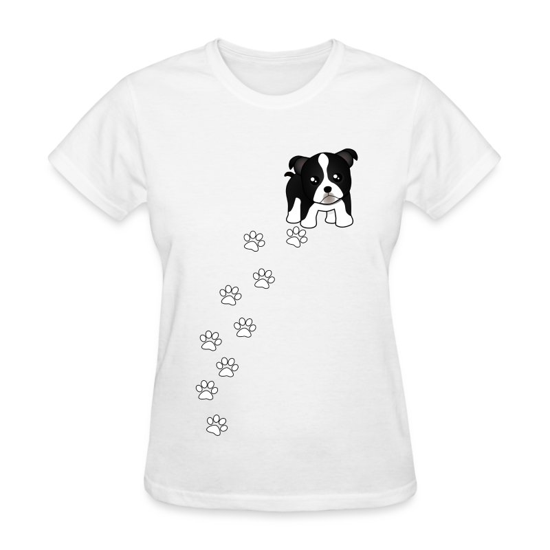 Boston terrier puppy dog t shirt spreadshirt for Boston rescue 2 t shirt