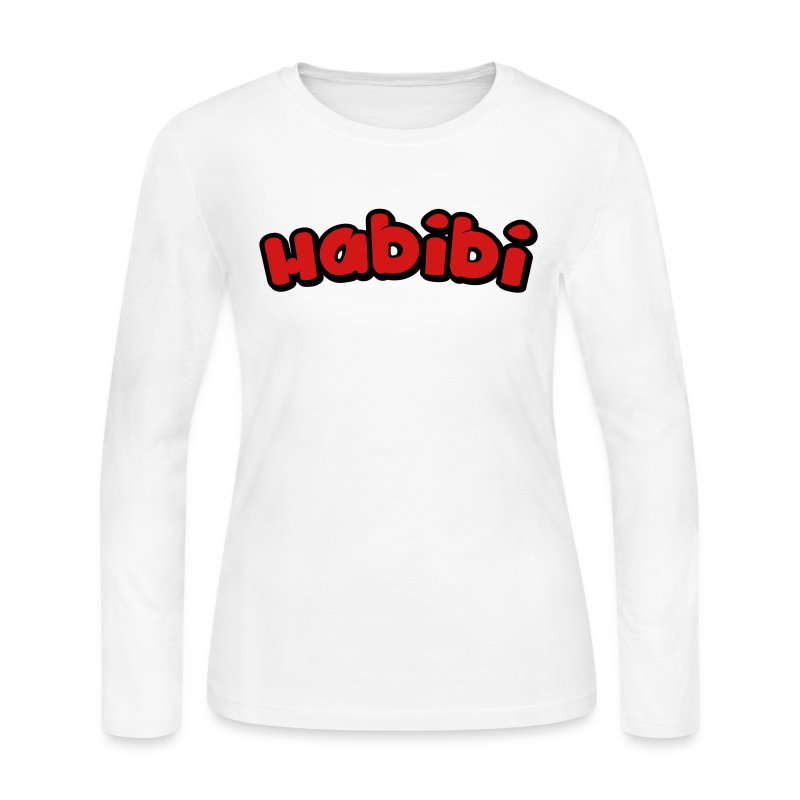 habibi2 - Women's Long Sleeve Jersey T-Shirt