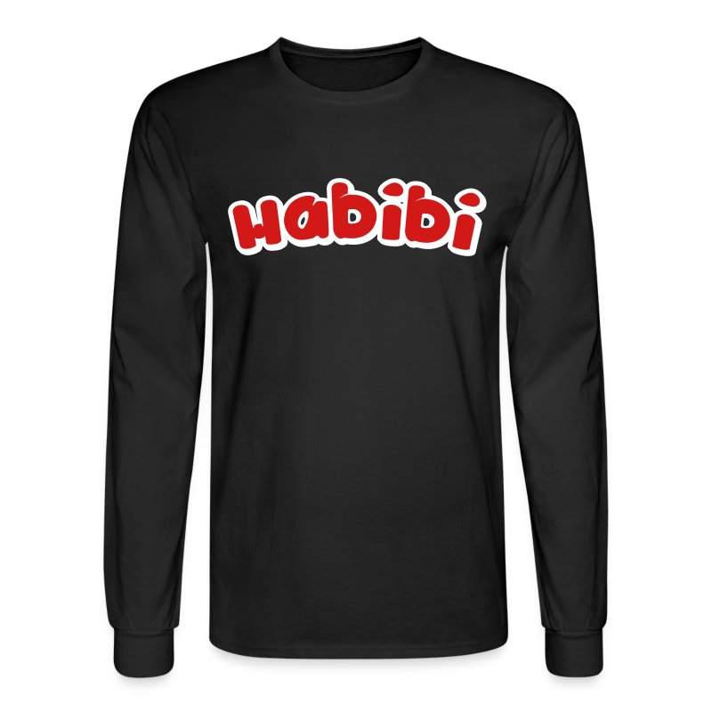 habibi2 - Men's Long Sleeve T-Shirt