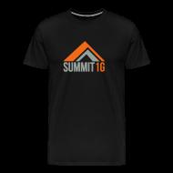 T-Shirts ~ Men's Premium T-Shirt ~ Mountain w/ 1G on Shoulder