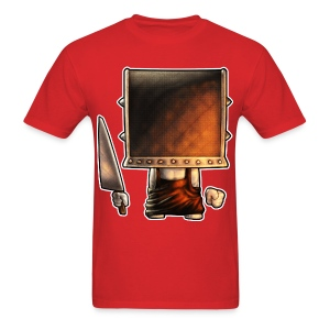 Cube Buddy Bordered - Men's T-Shirt