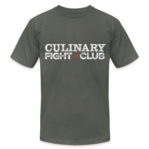 Culinary Fight Club - Dark Gray Tee - Men's Fine Jersey T-Shirt