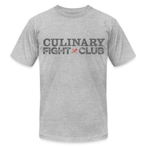 Culinary Fight Club - Light Gray Tee - Men's Fine Jersey T-Shirt