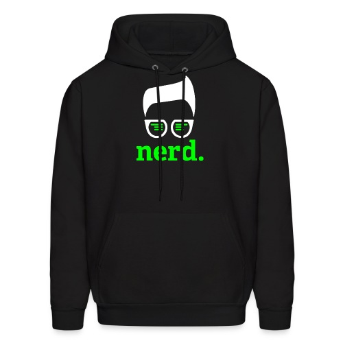 nerd sweater inverted green - Men's Hoodie