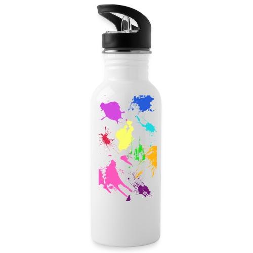 A Splash of Color Water Bottle - Water Bottle