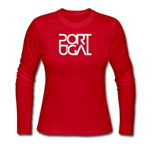 PORTUGAL - NEW - Women's Long Sleeve Jersey T-Shirt