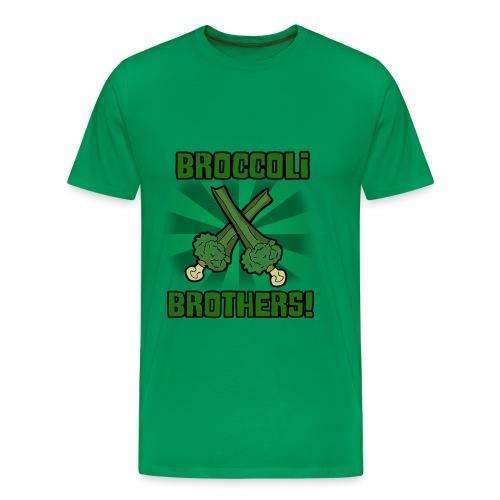 Broccoli Brothers! - Men's Premium T-Shirt