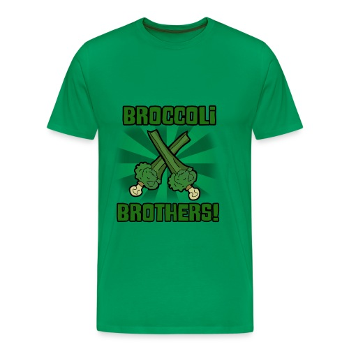 Broccoli Brothers! - Men's Premium T-Shirt