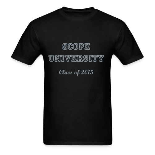 Scope University Class of 2015 - Men's T-Shirt