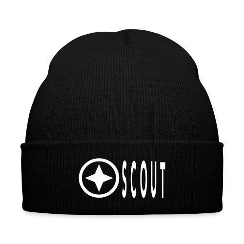 Scout PLain beanie - Knit Cap with Cuff Print