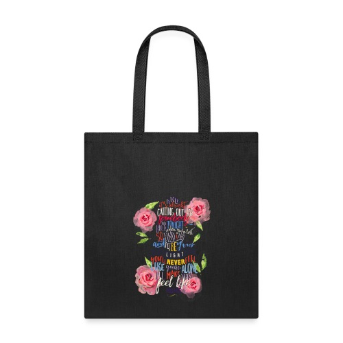 Home (with roses) tote - Tote Bag