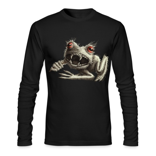 Halloween Monster Werefrog - Men's Long Sleeve T-Shirt by Next Level