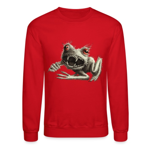 Monster Frog - Crewneck Sweatshirt