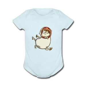 Astrocat — Friday Cat №26 - Short Sleeve Baby Bodysuit