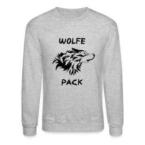 Wolfe Pack (Guys - Long Sleeve) - Crewneck Sweatshirt