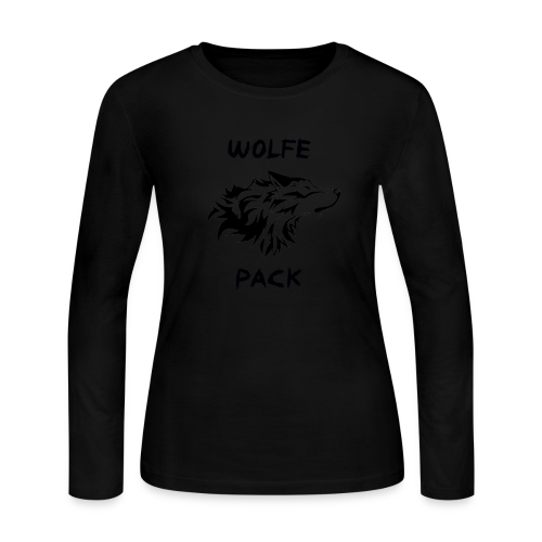 Wolfe Pack (Ladies - Long Sleeve) - Women's Long Sleeve Jersey T-Shirt