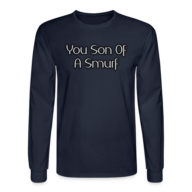 Son Of A Smurf (Guys - Long Sleeve)