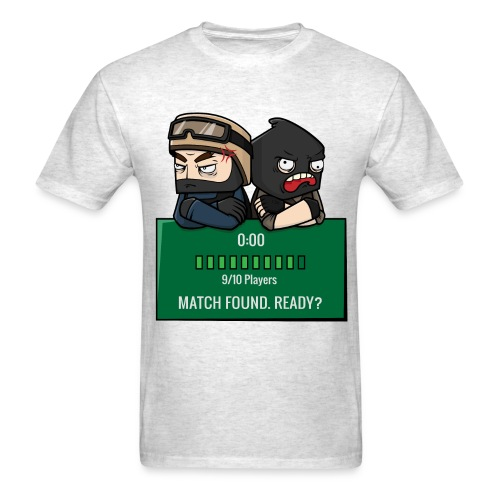 Match Found. Ready? - Men's T-Shirt