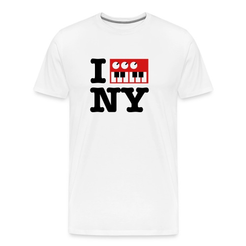 I Synth NY - Men's Premium T-Shirt