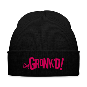 Get Gronk'd Beanie - Knit Cap with Cuff Print