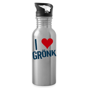 I Heart Gronk Water Bottle - Water Bottle