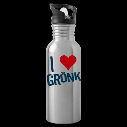I Heart Gronk Water Bottle - Water Bottle