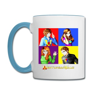 VenturianTale Group - Contrast Coffee Mug