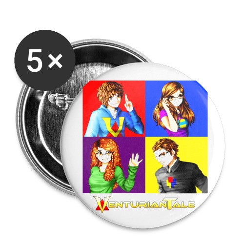 VenturianTale Group - Buttons large 2.2'' (5-pack)