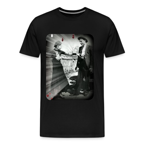 bonnie meets clyde - Men's Premium T-Shirt