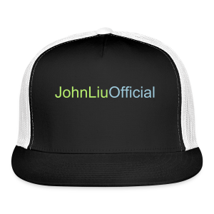 JohnLiuOfficial Hat Black Text Colour 1 - Trucker Cap