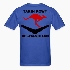 Multi-National Base Tarin Kowt T-Shirt - Blue