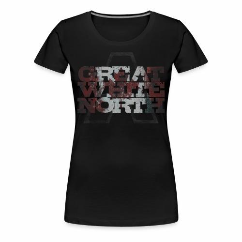 Great White North Tee  - Women's Premium T-Shirt