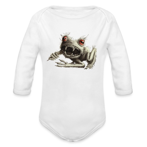 Werefrog - Organic Long Sleeve Baby Bodysuit