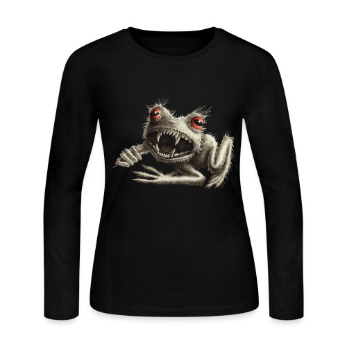 Werefrog - Women's Long Sleeve Jersey T-Shirt