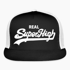 Real SuperHigh Trucker Hat wht/blk